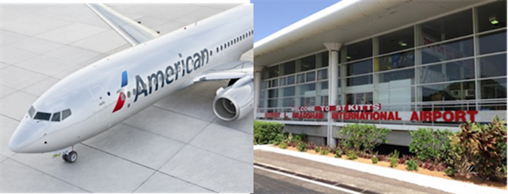 St. Kitts Welcomes Wednesday Non-stop Service from JFK by American Airlines