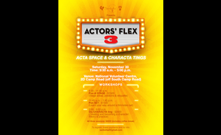 Actors' Flex 3 in Jamaica Focuses on Actors Workshop & Characterization