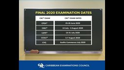 CSEC AND CAPE Exams to Begin on July 13, 2020