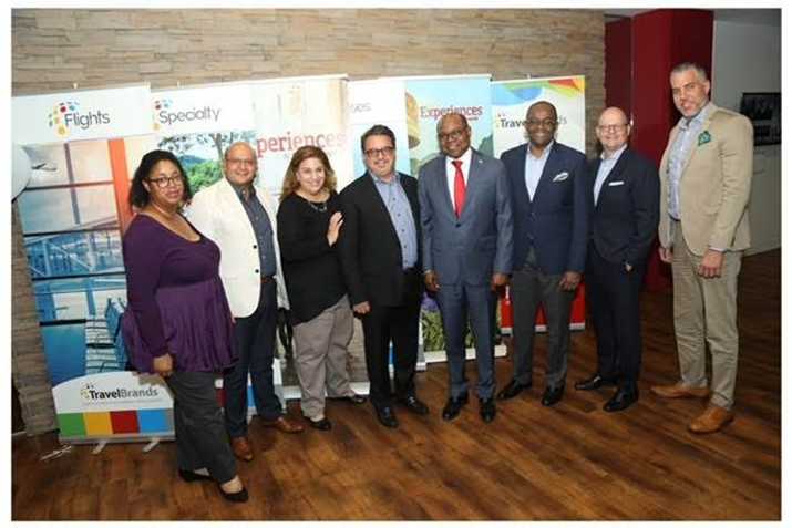 Jamaica's Minister of Tourism and Director of Tourism Meet With Canadian Travel Industry Leaders
