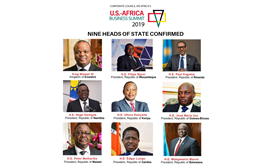 Nine Heads of State Confirmed to Attend the U.S-Africa Business Summit in June