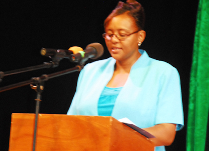 2015/2016 Montserrat Secondary School Academic Year Report by MSS Principal, Mrs Cherlyn S. Hogan