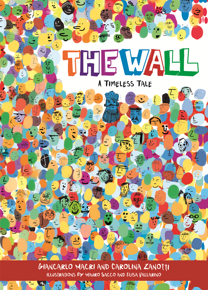 "New children's book ""The Wall"" shows that a Wall leads to a divided kingdom"