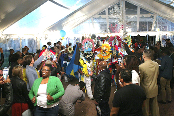 Hundreds turn up to Bahamian Party in Washington DC