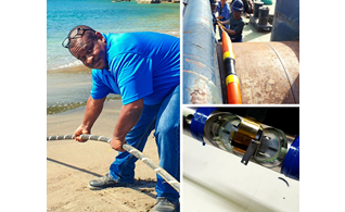 Montserrat's Fibre Optic Cable Connection Successfully Completed