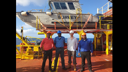 Marine Survey Work Completed For Subsea Fibre Optic Cable Installation for Montserrat