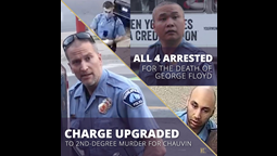 STATEMENT: Charges Against All 4 Officers in George Floyd's Killing Is a Necessary Step to Justice
