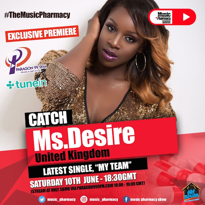 Ms Desire Takes on Ghana, West Africa