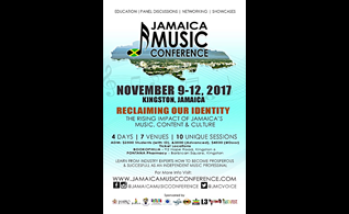Jamaica Music Conference in Kingston, JA: November 9th - 12th, 2017