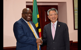 Ambassador Lee Pledges to Advance Cooperation Between St. Kitts/Nevis and The Republic Of China (Taiwan)