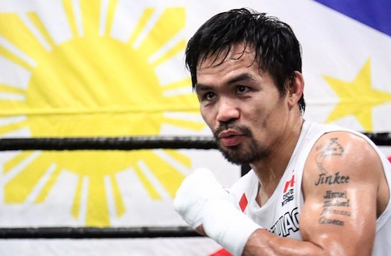 Manny Pacquiao to Host Island Rumble in the Cayman Islands
