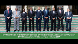 Prime Minister Harris of St Kitts & Nevis Attends Monetary Council Meeting in Dominica
