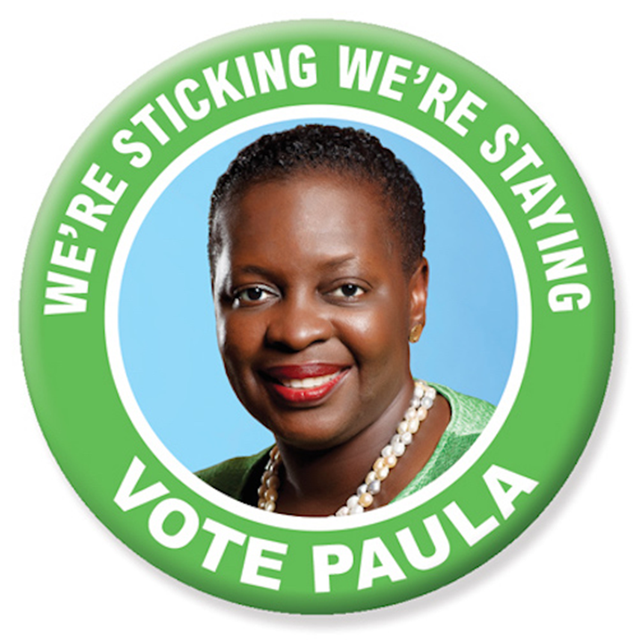 Paula Cox Message to C-14 Voters for Bermuda's General Election on Tuesday