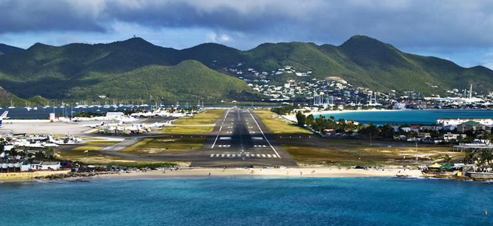 "St. Maarten's Princess Juliana International Airport Nominated for PrivateFly's ""Most Scenic Airport Landing"" for 2019"