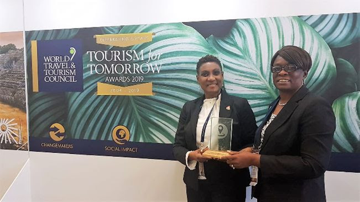 St. Kitts Wins the Tourism for Tomorrow Award from The World Travel & Tourism Council (WTTC)