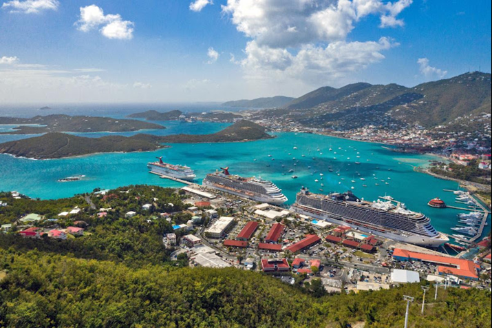 St Thomas USVI Named Best Caribbean Cruise Destination
