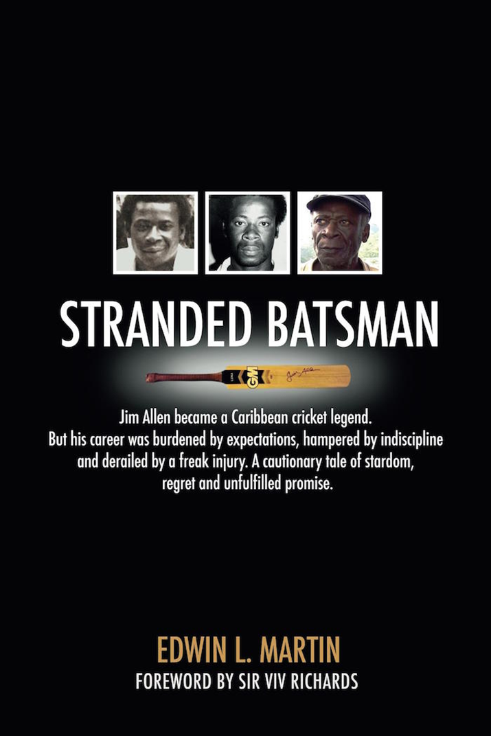 "Interview: Edwin Martin, Author of Book ""Stranded Batsman"" about Legendary Cricketer Jim Allen"