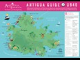 Antigua & Barbuda Tourism Authority Unveils UB40 Island Map After Re-Release Of Come Back Darling Music Video