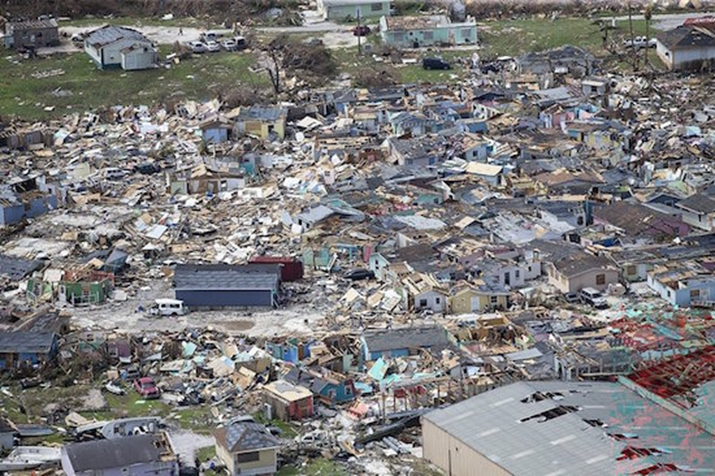 Hurricane death toll from The Bahamas climbs to 20 in massive devastation