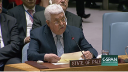 Expert's Views on UN Security Council Speech by Palestinian President Abbas