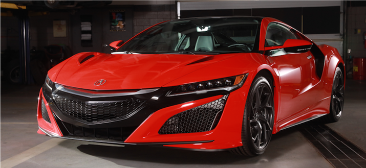 Rock the Road Raffle Returns with its Most Valuable Car to Date, 2018 Acura NSX