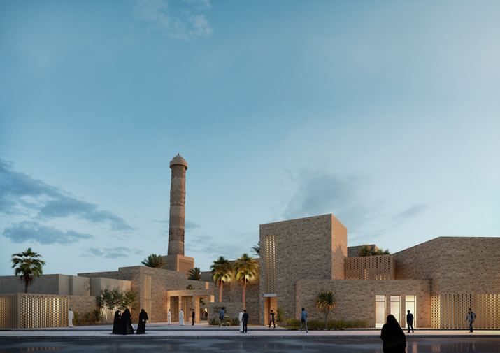 UNESCO Announces Winning Architectural Design of Competition to Rebuild Mosul Mosque
