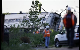 Train Carrying Republican Lawmakers Hits Truck