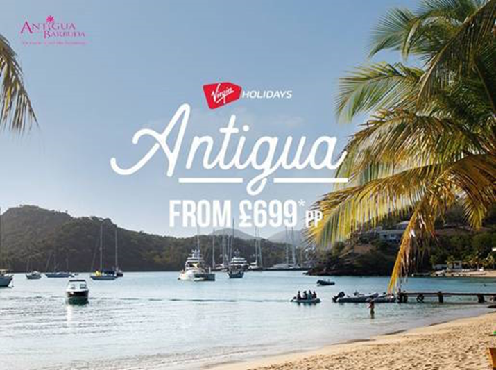 Virgin Holidays Partners with Antigua and Barbuda Tourism Authority in Destination Take-Over