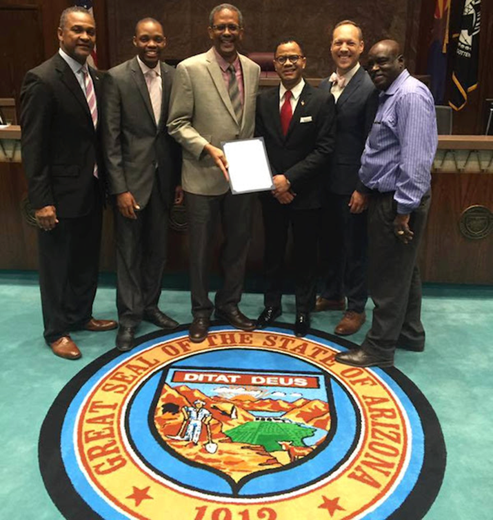 Arizona's Caribbean Cultural Association Takes a Front Line Position with a Proclamation