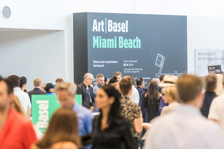 Art Basel Miami Beach 2017 Concludes with Strong Sales and High Praise For the New Show Design
