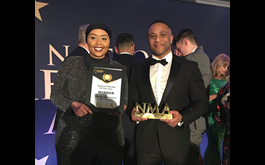 Khadija Abdelhamid of Ultra Education has Won a National Mentee of the Year Award in the UK