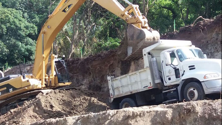 Road Network Improvements Continue on Montserrat in the Barzeys River Area