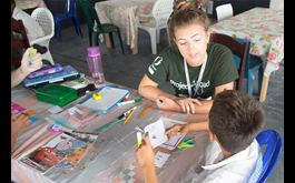 Projects Abroad launches Literacy Program at New Placement In Belize