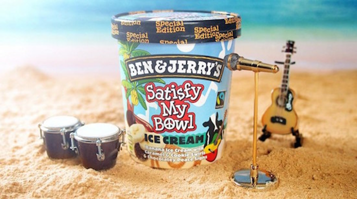 Ben & Jerry's Ice cream Celebrates Bob Marley's Legacy with One Love Flavour