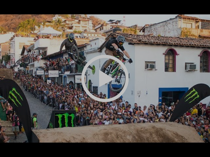 MTB Downhill Athletes take on Puerto Vallarta in Down Puerto Vallarta Competition