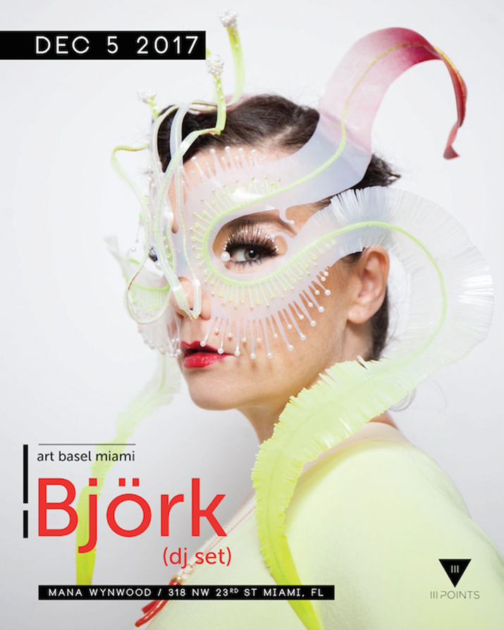 Iconic Icelandic Artist Björk To Kick off III Points Music, Art & Technology Festival