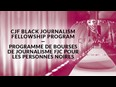 Apply Now: New Canadian Journalism Foundation Black Journalism Fellowship Program