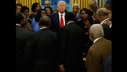 Presidents from Historically Black Colleges and Universities Push for Financial Support In Meetings With Trump