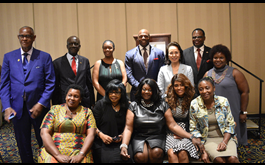 Business Leaders at Silke Endress Ambassadors Awards, Maryland, USA