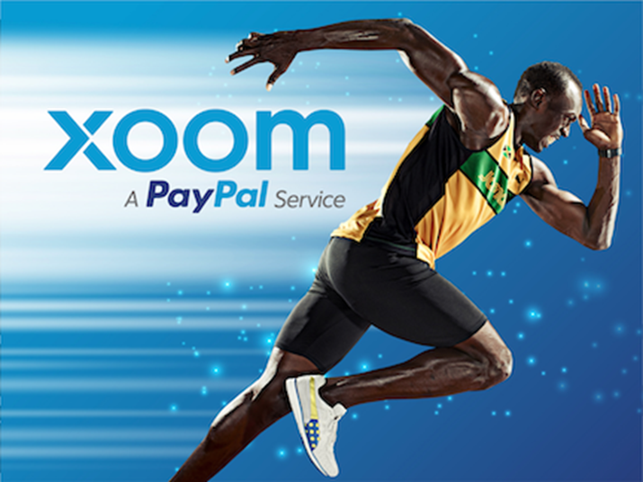 Usain Bolt and Xoom Arrived in Canada on Tuesday - New Money Transfer Service From PayPal