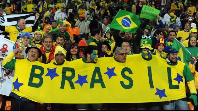 Brazil world cup fans that interfere