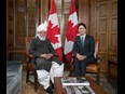 Prime Minister Justin Trudeau Meets The Caliph, His Holiness, Hazrat Mirza Masroor Ahmad