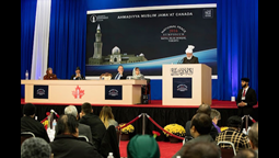 The Caliph, His Holiness Hazrat Mirza Masroor Ahmad, Delivers Keynote Address at Canada's National Peace Symposium