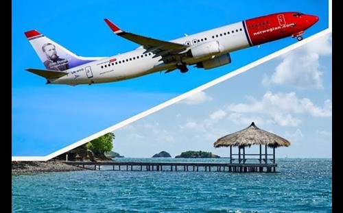 Norwegian Air Now Flies Direct from Montreal, Canada to Martinique