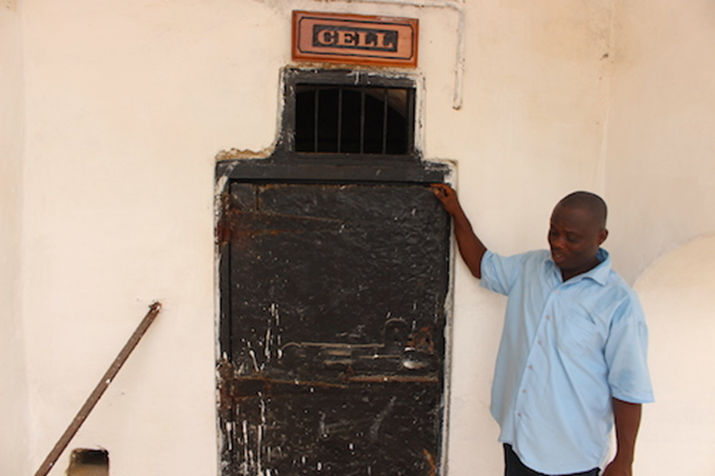 "Part 3: Visit to Cape Coast Castle, Ghana, West Africa: Haunting Reality of the ""Condemned Cell"""