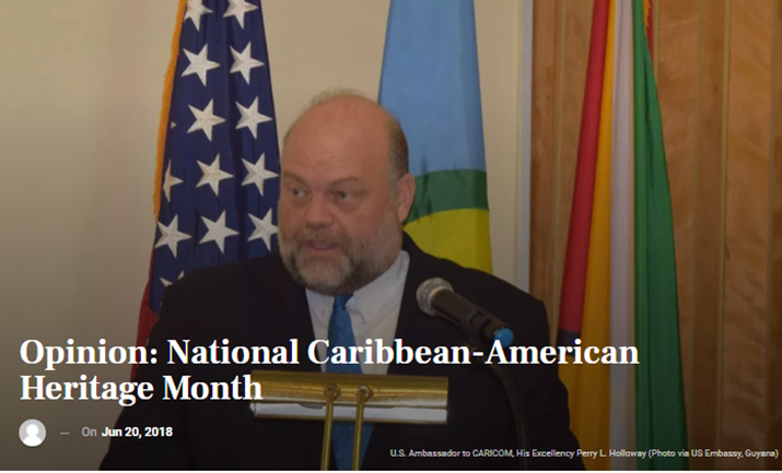 Opinion: National Caribbean-American Heritage Month
