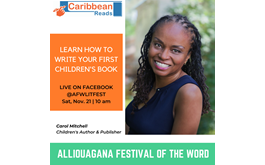 Learn How to Write and Promote Your Book at Alliouagana Festival of the Word