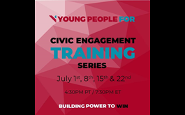 Young People For (YP4) Civic Engagement Training Series Starts Today in the United States