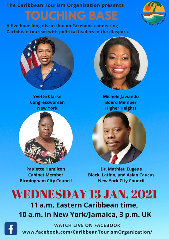 Caribbean Tourism Connects With Political Leaders in the Diaspora - Join the Discussion