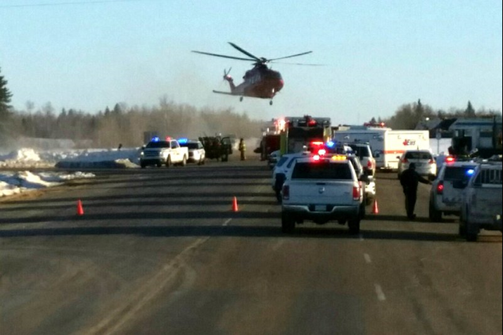 14 Die and 15 Injured as Truck Collides With Junior Hockey Team Bus in Canada